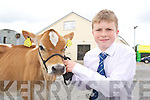Donnacha Daly, Scartaglinat the Castleisland Mart Calf Show on Saturday