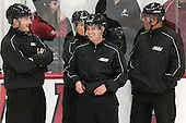 James Shea, Katie Guay, Kyle Smiley, Mark Andrews - The visiting Boston College Eagles defeated the Harvard University Crimson 2-0 on Tuesday, January 19, 2016, at Bright-Landry Hockey Center in Boston, Massachusetts.