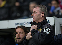 Notts County Manager John Sheridan during the Sky Bet League 2 match between Notts County and Wycombe Wanderers at Meadow Lane, Nottingham, England on 10 December 2016. Photo by Andy Rowland.