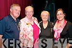 "Abbeyfeale Arts Assembly: The organisers of the Abbeyfeale Arts Assembly event pictured at the ""In the Mood... & All That Jazz"" concert at the Glorach Theatre, Abbeyfeale on Friday night last. L - R : Denis Hobson, Marian Harnett, PRO, Merce Hobson, Chairpersom & Erin Sugrue."