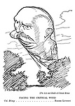 Facing the Critical Wind. Col. Blimp...Roger Livesey [The Life and Death of Colonel Blimp]