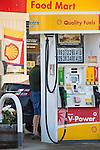 Gasoline fuel pump. Clinton, CT.