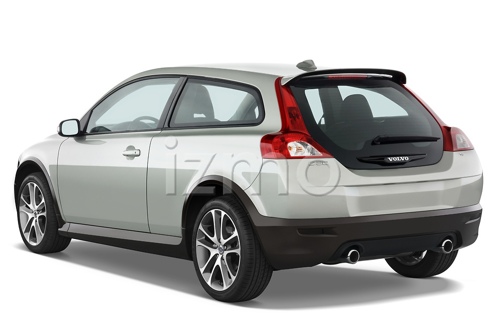 Car pictures of rear three quarter view of 2008 Volvo C30 T5 Version 2.0 2 Door Coupe angular rear
