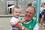 Jim and Dylan O'Toole<br /> at the summer fair in St Peters church of Ireland.<br /> Picture:  www.newsfile.ie