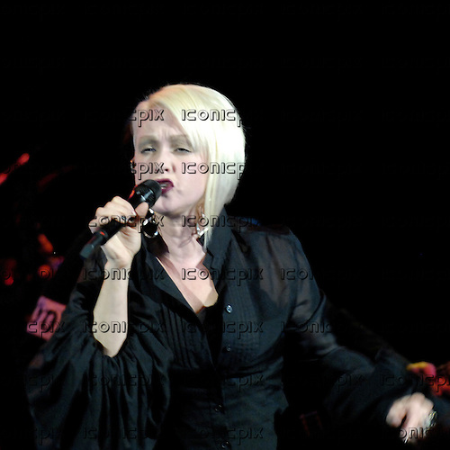 Cyndi Lauper - performing live at the Shepherds Bush Empire, London UK - 14 Oct 2008.  Photo by: George Chin/IconicPix
