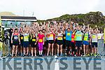 Start line of The Gleneagle Hotel Run Killarney 2018 Half Marathon at the Molls Gap last Saturday morning.