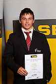 Weightlifting Boys winner Josh Milne from Howick College. ASB College Sport Young Sportsperson of the Year Awards held at Eden Park, Auckland, on November 11th 2010.