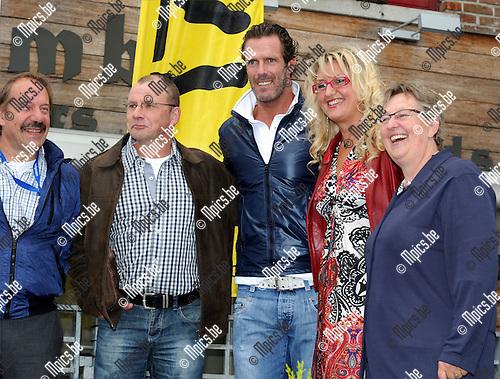 2011-09-07 / Wielrennen / seizoen 2011 / Memorial Rik Van Steenbergen Aarselaar / Oud winnaar Mario Cipollini was een opgemerkte gast..Foto: mpics