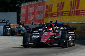 Verizon IndyCar Series<br /> Chevrolet Detroit Grand Prix Race 2<br /> Raceway at Belle Isle Park, Detroit, MI USA<br /> Sunday 4 June 2017<br /> Mikhail Aleshin, Schmidt Peterson Motorsports Honda<br /> World Copyright: Phillip Abbott<br /> LAT Images<br /> ref: Digital Image abbott_detroit_0617_7677