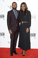 "David Oyelowo and director, Amma Asante<br /> at the London Film Festival photocall for the opening film, ""A United Kingdom"", Mayfair HotelLondon.<br /> <br /> <br /> ©Ash Knotek  D3159  05/10/2016"