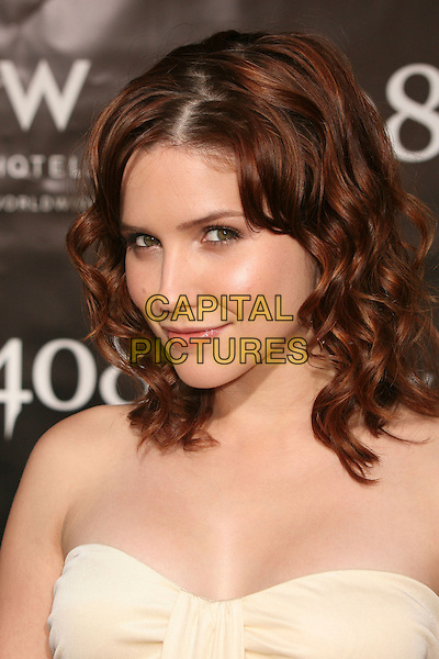 "SOPHIA BUSH.""1408"" World Premiere at Mann's National Theatre, Westwood, California, USA..June 12th, 2007.headshot portrait strapless .CAP/ADM/BP.©Byron Purvis/AdMedia/Capital Pictures"
