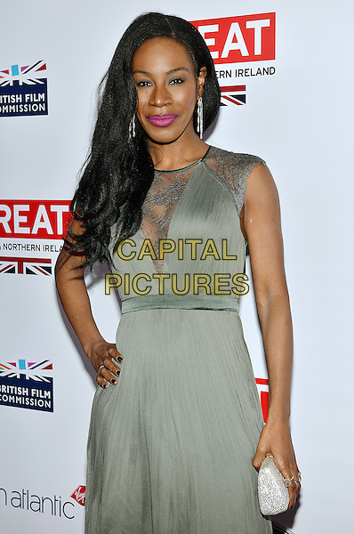 28 February 2014 - Los Angeles, California - Amma Assante. GREAT British Film Reception to honor the British Oscar nominees, hosted by Consul General Chris O'Connor at the British Residence. <br /> CAP/ADM/CC<br /> &copy;CC/AdMedia/Capital Pictures