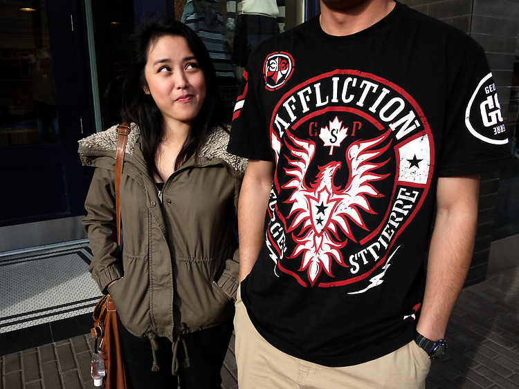 Affliction, Fashion Valley Mall, San Diego
