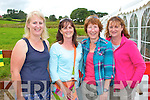 Pictured at the Marquee dancing at the Dan Paddy Andy festival on Sunday were L-R: Erin Lyons, Lyreacrompane, Ciara Moriarty, Sadie Burgan, Tralee, Deirdre Buckley, Cork.