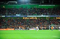 GRONINGEN -  Voetbal, Nederland - Noorwegen, Noordlease stadion, WK kwalificatie vrouwen, 24-10-2017,    overzicht Noordlease stadion