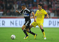 Fussball 1. Bundesliga :  Saison   2011/2012   Liga Total Cup  20.07.2011 Borussia Dortmund - Hamburger SV Aenis Ben - Hatira (li, Hamburger SV) gegen Damien Le Tallec (re, Borussia Dortmund)