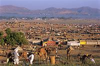 India, Rajasthan, Pushkar: Pushkar camel festival | Indien, Rajasthan, Pushkar: Pushkar Camel Festival