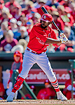 29 February 2020: St. Louis Cardinals outfielder Dexter Fowler in action during a Spring Training game against the Washington Nationals at Roger Dean Stadium in Jupiter, Florida. The Cardinals defeated the Nationals 6-3 in Grapefruit League play. Mandatory Credit: Ed Wolfstein Photo *** RAW (NEF) Image File Available ***