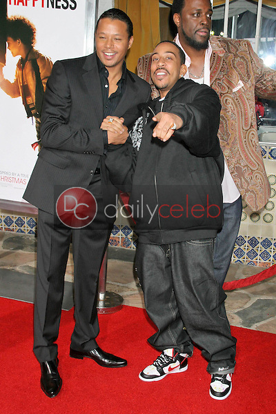 Terrence Howard and Ludacris<br />