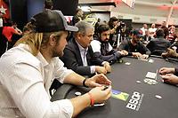 Sao Paulo (SP), 26/11/2019 - BSOP-Millions - Diego 'Alemao' - Comecou nesta terca-feira (26), o maior torneio de Poker da America Latina, o BSOP Millions. Neste primeiro dia de evento, diversas celebridades se juntam para disputar a famosa ''Mesa das Estrelas''. (Foto: Diego Soares/Codigo 19/Codigo 19)