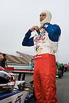 4 August 2007: Darren Manning (XEN) prepares for qualifying at the Firestone Indy 400, Michigan International Speedway, Brooklyn, Michigan