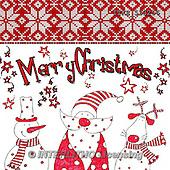 Isabella, CHRISTMAS SANTA, SNOWMAN, WEIHNACHTSMÄNNER, SCHNEEMÄNNER, PAPÁ NOEL, MUÑECOS DE NIEVE, paintings+++++,ITKE533256,#x# napkins