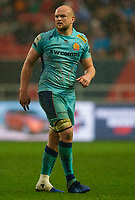 Exeter Chiefs' Tom Lawday<br /> <br /> Photographer Bob Bradford/CameraSport<br /> <br /> Premiership Rugby Cup Round 4 - Bristol Bears v Exeter Chiefs - Saturday 26th January 2019 - Ashton Gate - Bristol<br /> <br /> World Copyright © 2018 CameraSport. All rights reserved. 43 Linden Ave. Countesthorpe. Leicester. England. LE8 5PG - Tel: +44 (0) 116 277 4147 - admin@camerasport.com - www.camerasport.com