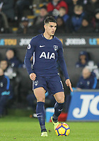 Erik Lamela of Spurs during the Premier League match between Swansea City and Tottenham Hotspur at the Liberty Stadium, Swansea, Wales on 2 January 2018. Photo by Mark Hawkins / PRiME Media Images.