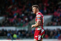 Saturday 10 May 2014<br /> Pictured: Rhys Preistland of the Scarlets<br /> Re: Scarlets v Blues Rabo Direct Pro 12 Rugby Union Match at Parc y Scarlets, Llanelli, Wales