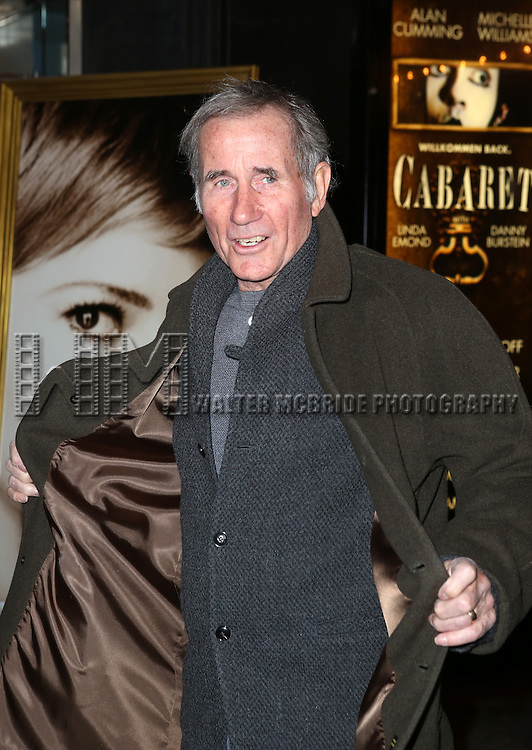 Jim Dale attending the Broadway Opening Night Performance of 'Cabaret' at Studio 54 on April 24, 2014 in New York City.