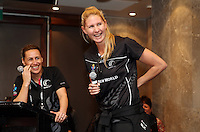 13.08.2015 Silver Ferns meet their fans on a day off at the 2015 Netball World Cup at All Phones Arena in Sydney Australia. Mandatory Photo Credit ©Michael Bradley.