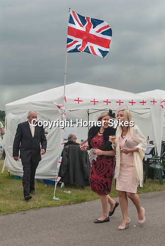 Royal Ascot horse racing Berkshire. 2016. Heath side of the race track.