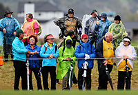 Spectators. McKayson NZ Women's Golf Open, Round Four, Windross Farm Golf Course, Manukau, Auckland, New Zealand, Sunday 1st October 2017.  Photo: Simon Watts/www.bwmedia.co.nz