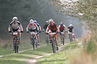 07 APR 2007 - THETFORD, UK - British Mountain Bike X Country series Round 1 Race 2. (PHOTO (C) NIGEL FARROW)