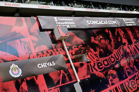 Harrison, NJ - Tuesday April 10, 2018: Champions League graphic prior to leg two of a  CONCACAF Champions League semi-final match between the New York Red Bulls and C. D. Guadalajara at Red Bull Arena. C. D. Guadalajara defeated the New York Red Bulls 0-0 (1-0 on aggregate).