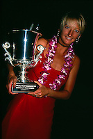 Layne Beachley (AUS) ASP World Champion Hawaii 1998. Photo:  joliphotos.com
