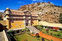 Samode Palace Hotel, near Jaipur, Rajasthan, India