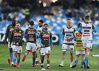 9th February 2020; Stadio San Paolo, Naples, Campania, Italy; Serie A Football, Napoli versus Lecce; Lorenzo Insigne of Napoli pre-game warm up