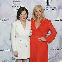 05 June 2019 - New York, New York - Linda G. Levy and Jane Krakowski. 2019 Fragrance Foundation Awards held at the David H. Koch Theater at Lincoln Center. Photo Credit: LJ Fotos/AdMedia