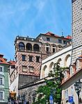 Praga, stolica Czech. 2013-07-23. Centrum miasta. Hradczany.