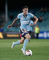 Sydney FC Corey Gameiro during A-League match against Brisbane Roar in Sydney, March 14, 2014. Photo by Daniel Munoz/VIEWPRESS EDITORIAL USE ONLY
