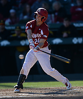 NWA Democrat-Gazette/ANDY SHUPE<br /> Arkansas Missouri Saturday, March 16, 2019, during the inning at Baum-Walker Stadium in Fayetteville. Visit nwadg.com/photos to see more photographs from the game.