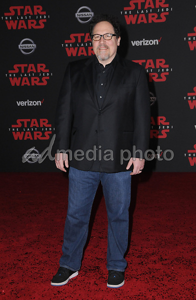"09 December  2017 - Los Angeles, California - Jon Favreau. Premiere Of Disney Pictures And Lucasfilm's ""Star Wars: The Last Jedi"" held at The Shrine Auditorium  in Los Angeles Photo Credit: Birdie Thompson/AdMedia"