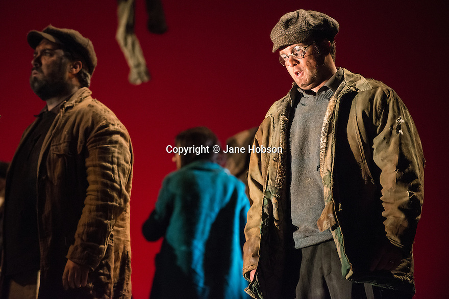 London, UK. 05.03.2013. English Touring Theatre's production of THE SIEGE OF CALAIS by Donizetti, opens at Hackney Empire, prior to touring. Picture shows: Matthew Sprange (Armando). Photo credit: Jane Hobson.