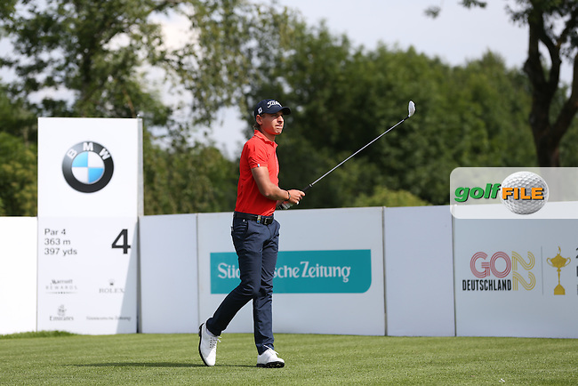 Joakim Lagergren (SWE) drives from the 4th during Round One of the 2015 BMW International Open at Golfclub Munchen Eichenried, Eichenried, Munich, Germany. 25/06/2015. Picture David Lloyd | www.golffile.ie