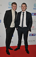 Jamie Borthwick and Max Bowden at the Football For Peace Initiative Dinner by Global Gift Foundation, Corinthia Hotel, Whitehall Place, London, England, UK, on Monday 08th April 2019.<br /> CAP/CAN<br /> &copy;CAN/Capital Pictures