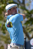 Bryson DeChambeau (USA) watches his tee shot on 3 during round 1 of the Arnold Palmer Invitational at Bay Hill Golf Club, Bay Hill, Florida. 3/7/2019.<br /> Picture: Golffile | Ken Murray<br /> <br /> <br /> All photo usage must carry mandatory copyright credit (© Golffile | Ken Murray)