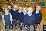 Pupils pictured on their first day of school at sneem National school on Wednesday were Danial O'Sullivan, Kamile Digimaite,  Micheal Casey, Padraig Casey, Sean Casey, Klaudijus, Digimaite and Darragh murphy.