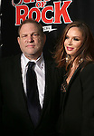 Harvey Weinstein and Georgina Chapman attend the Broadway Opening Night Performance of 'School of Rock' at the Winter Garden Theatre on December 6, 2015 in New York City.