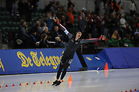 SPEEDSKATING: SALT LAKE CITY: 10-12-2017, Utah Olympic Oval, ISU World Cup, 5000m Men A-Division, Ted-Jan Bloemen (CAN), World record 6.01,86, ©photo Martin de Jong